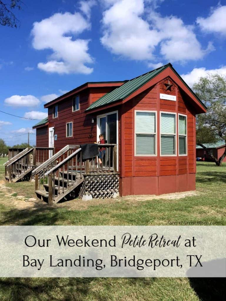 Petite Retreats at Bay Landing Campground Bridgeport, TX