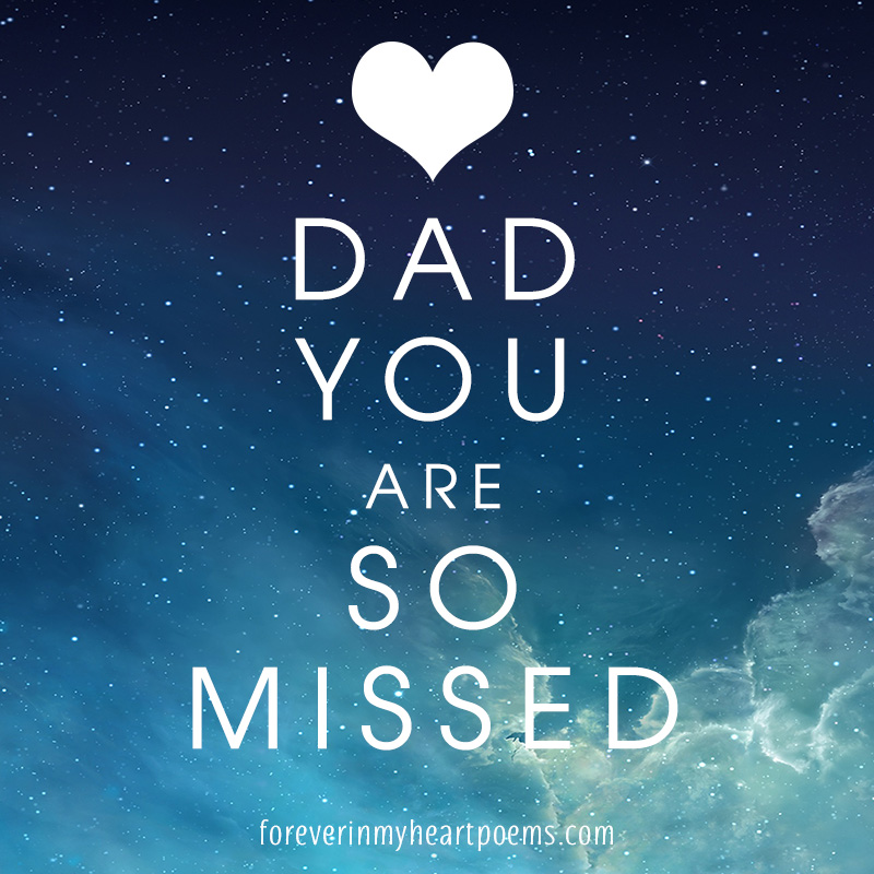Dad, you are so missed.