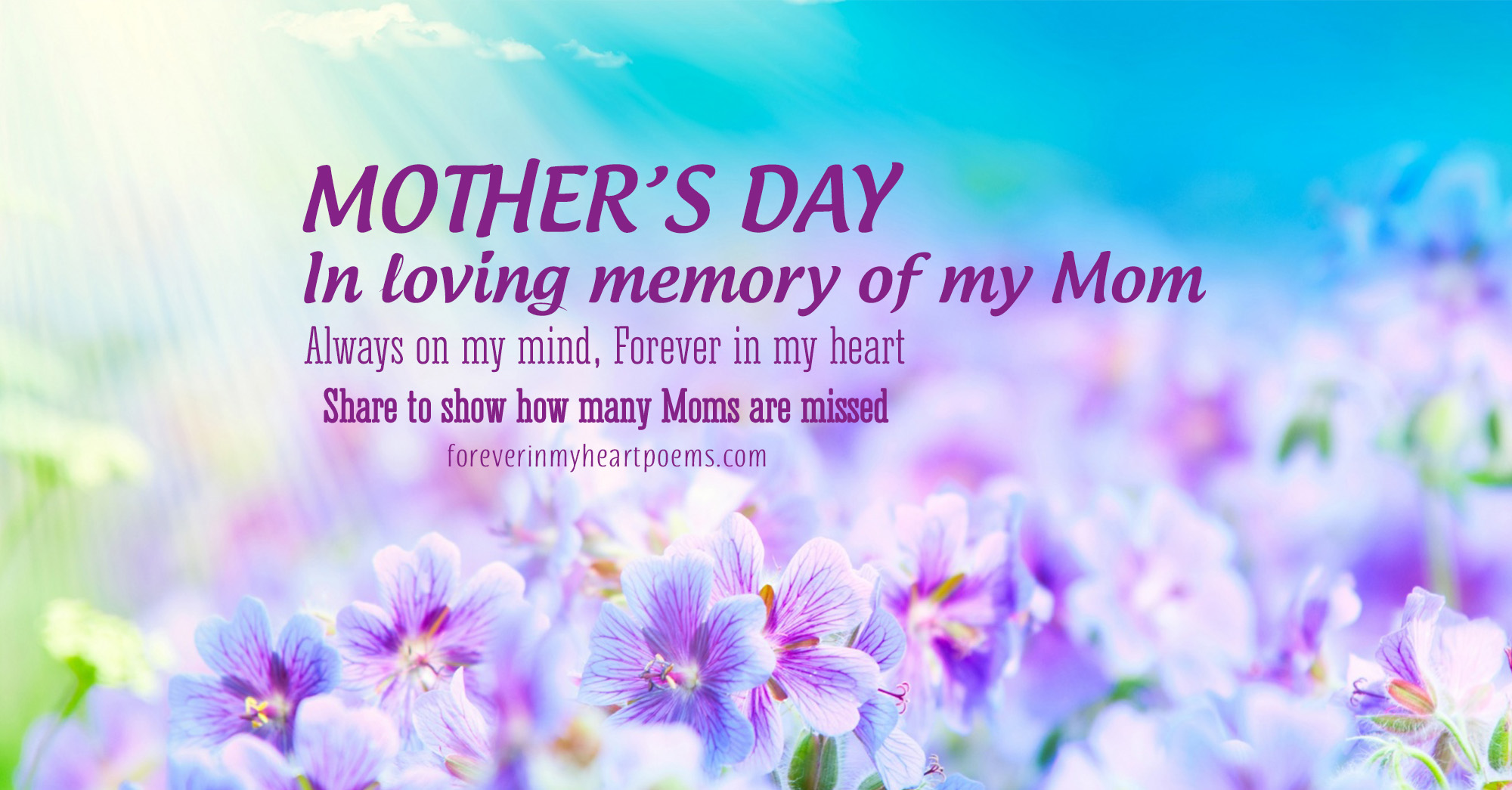 15 Best Missing Mom Quotes On Mothers Day In Loving