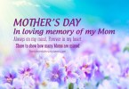 Quotes about Death - Mother's Day