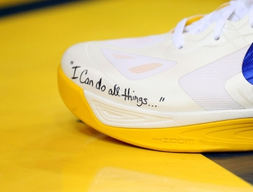 stephen curry i can do all things shoes