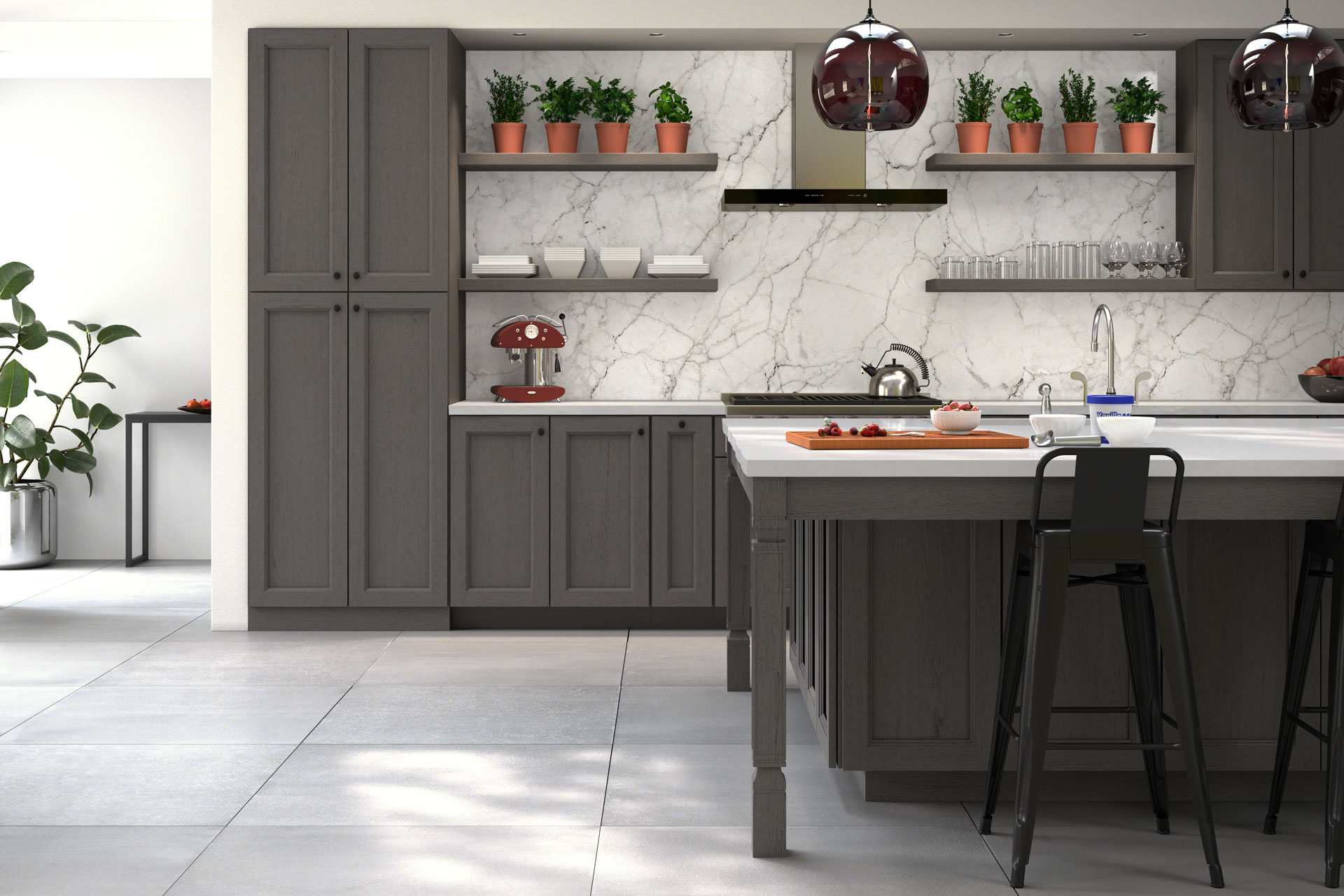 Midtown Grey  Forevermark Cabinetry