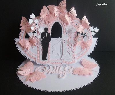 Craft Robo Gsd File Template Church Wedding Card 130