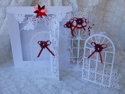 SVG File Template Christmas Window Door Amp Box 476