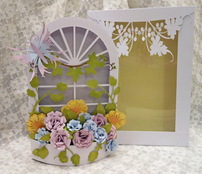 SVG File Template 3D Mum's Window Box £5 24
