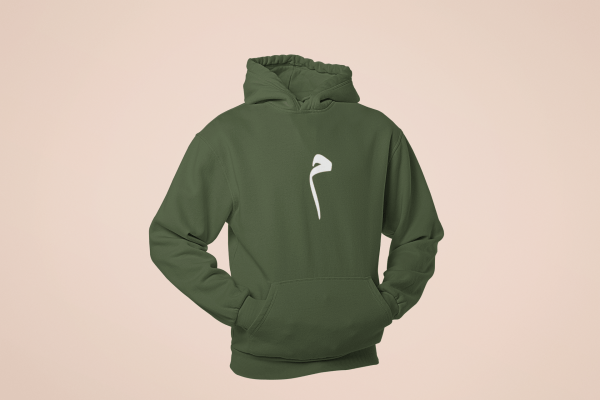 mockup of a ghosted pullover hoodie in a casual position 29359 6