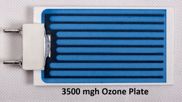 3500 mgh moisture resistant ozone plate