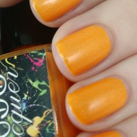 CDB Lacquer Somber Orange Overcast Mattes Collections