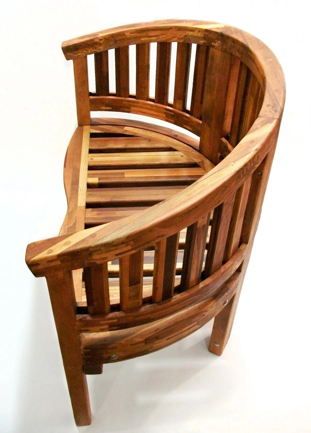 Circle Chair Jane 39s Key West Semi Circle Chair Custom Redwood Chair