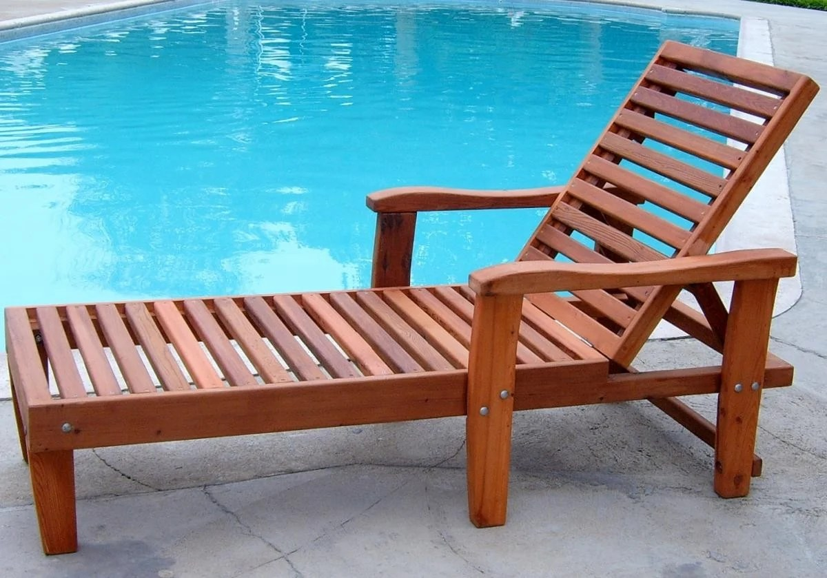 Lounge Pool Chairs Pool Loungers Forever Redwood