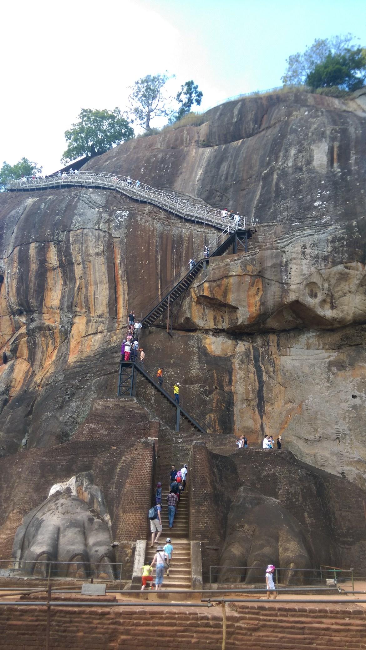 Sri Lanka Rock - lion rock