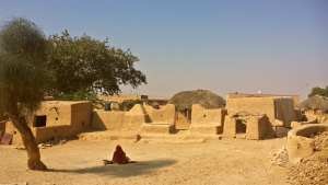 village-rajasthan-india