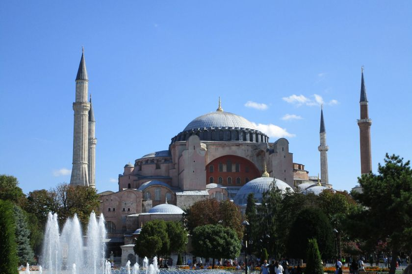 layover in istanbul-hagia sophia-turkey