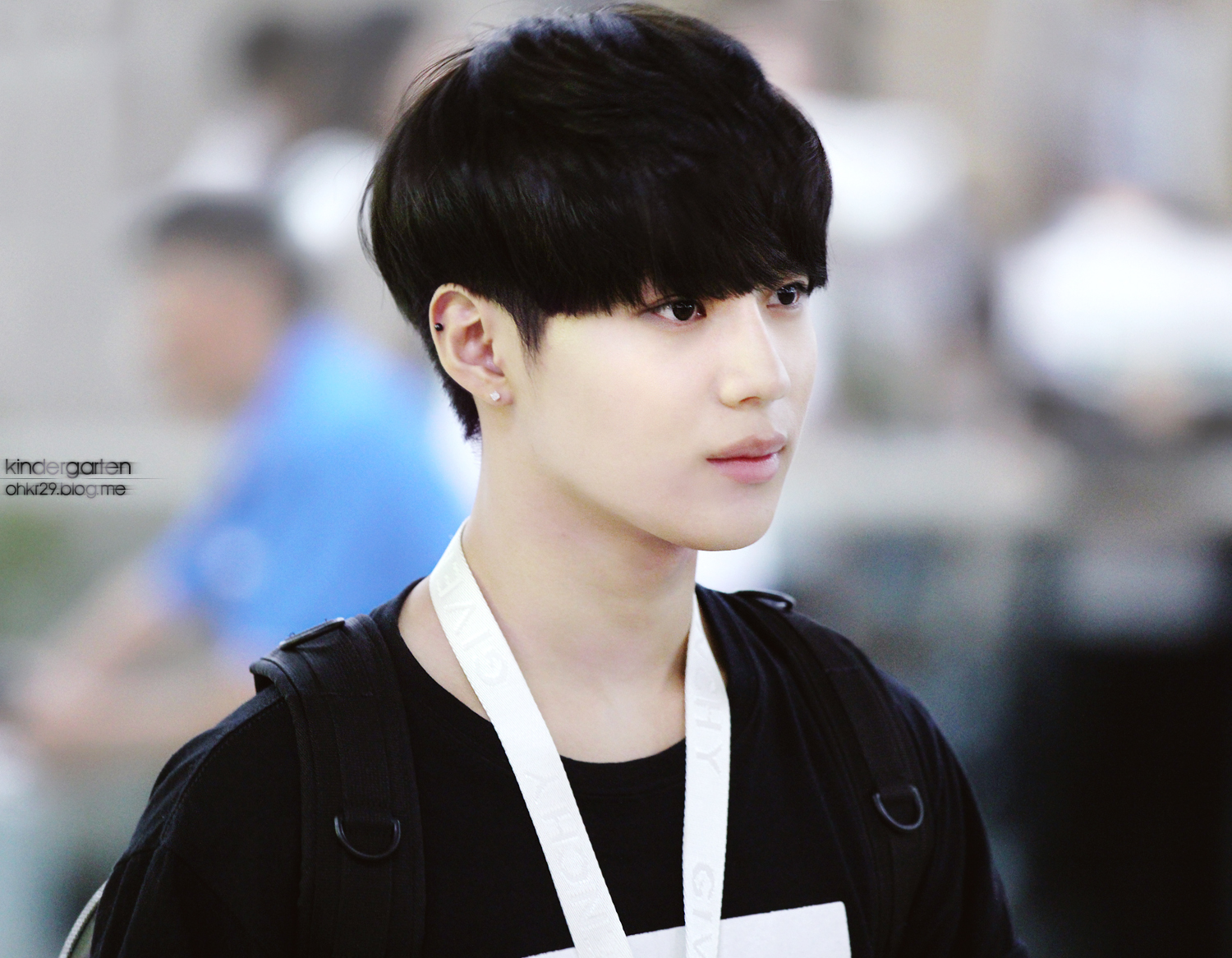 Precious Maknae Taemin arrived back at Gimpo Airport from