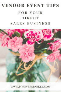 Vendor events are key to a successful direct sales business. Click to read the best direct sales vendor event tips for your direct sales business! Kristy Empol