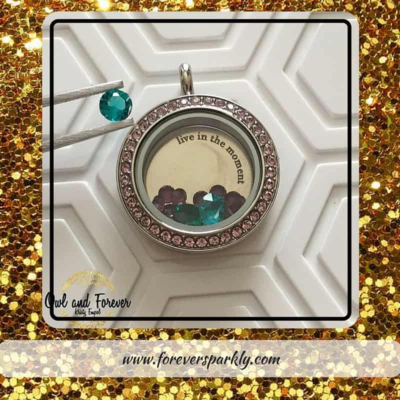 Top Origami Owl 1 - Forever Sparkly