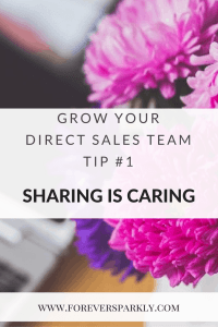 How to grow your direct sales team tip number one. Share the opportunity at the right time! Kristy Empol