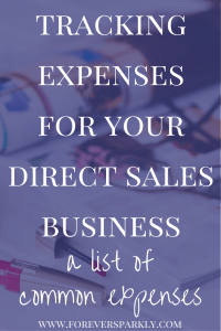 Are you in the business of direct sales? Tracking expenses for your direct sales business is crucial. Click to find out how to start today! Kristy Empol