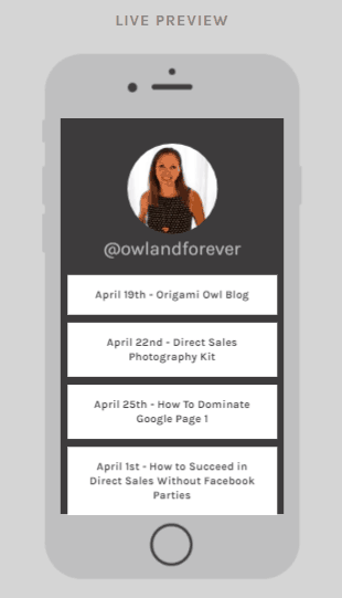 Wondering how to how to add multiple links to your direct sales Instagram profile? Learn how to use LInktree and grow your direct sales Instagram business! Kristy Empol
