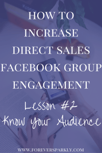 Don't try and trick Facebook into showing your posts to your community. Learn 3 ways to increase direct sales Facebook group engagement authentically. Kristy Empol
