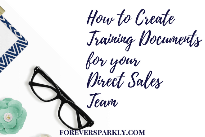 Want to be a leader & significantly grow your direct sales team? Read how to create training documents for your direct sales team and watch your team soar! Kristy Empol