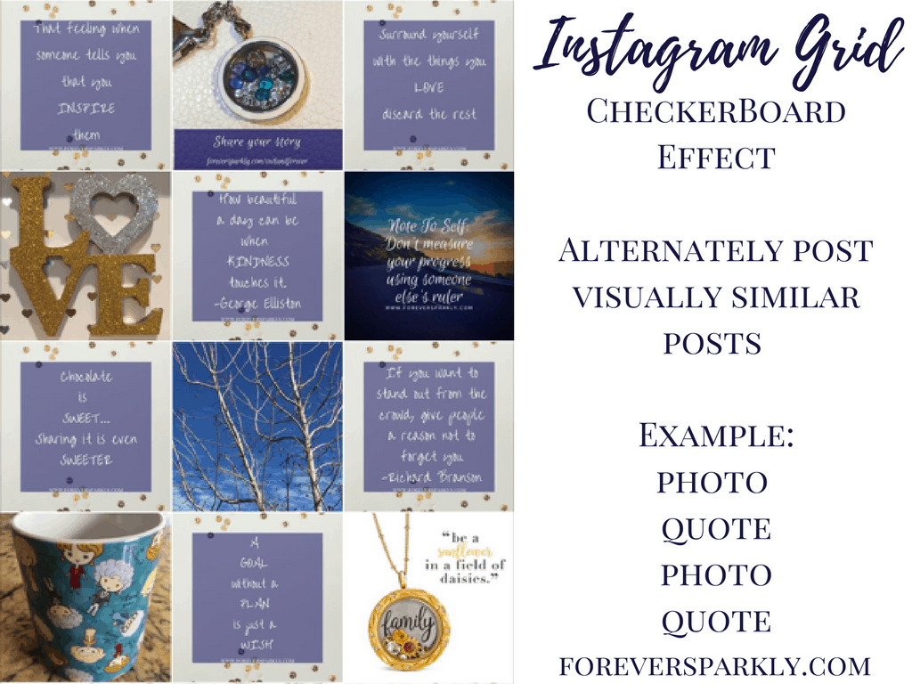 Ever wonder how to create a visually stunning Instagram grid for your direct sales Instagram profile? Click to read how to make your own Instagram grid pop! Kristy Empol