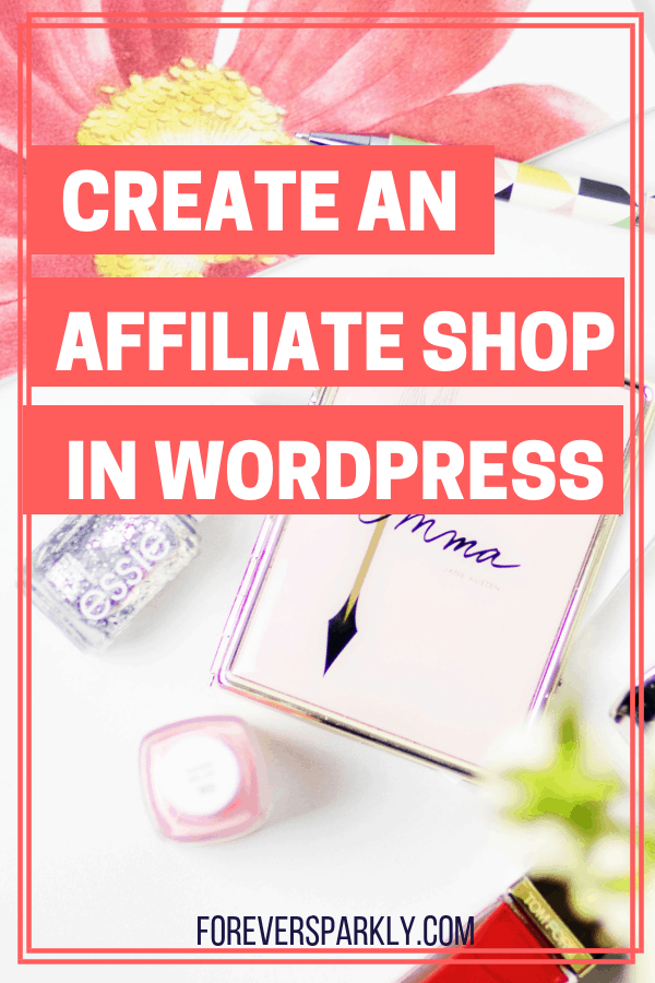Learn how to create an affiliate shop using WordPress with Essential Grid. Grow your passive income by creating an affiliate shop on your WordPress blog. #affiliatemarketing #passiveincome #wordpressblog #workfromhome #bloggingincome