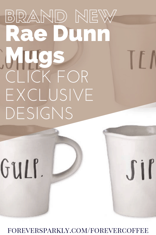 Java Momma Rae Dunn mugs have arrived and the designs are perfect for any coffee, tea, or mug collector. Click to view all the exclusive Rae Dunn designs. #raedunn #javamomma #directsales #coffeemugs