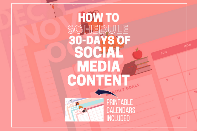 Lean how to schedule 30 days of social media posts quick and fast. Schedule your social media posts ahead for your home based business. Kristy Empol