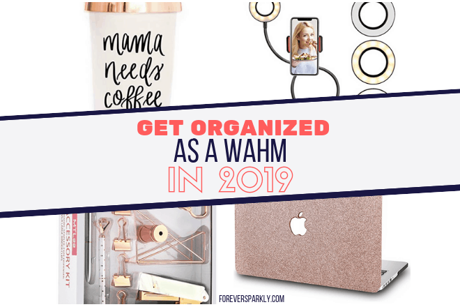 Wondering how to get organized in 2019 as a work at home mom? Click to read the 5 products you need to make your home based business a success in 2019. Kristy Empol