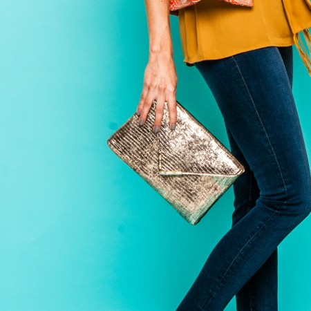 Elaine Turner Fall clutch