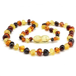 Mixed Amber necklace