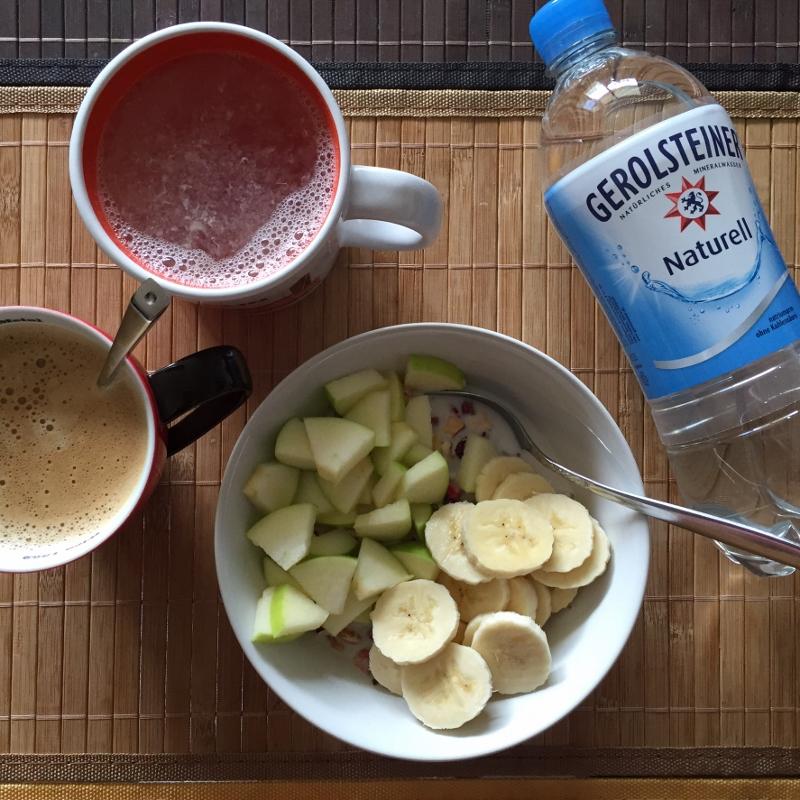 wasserwoche frühstück