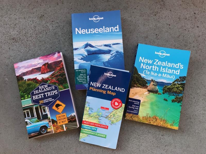 Planung unserer Neuseelandreise