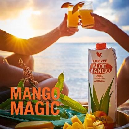 Forever Aloe Mango (Χυμός αλόης βέρα με μάνγκο)