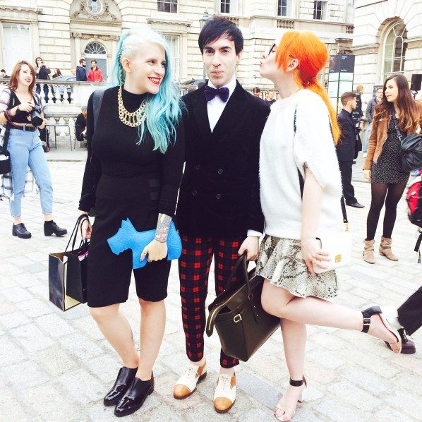 Betty & Bee Sandwich with our Jaime London Boy