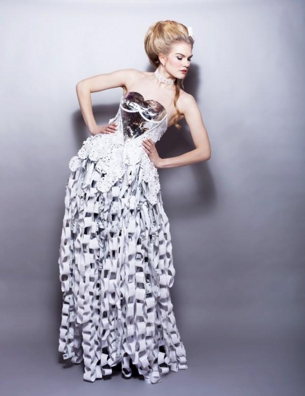 Junk Kouture past creations: Paper Werk
