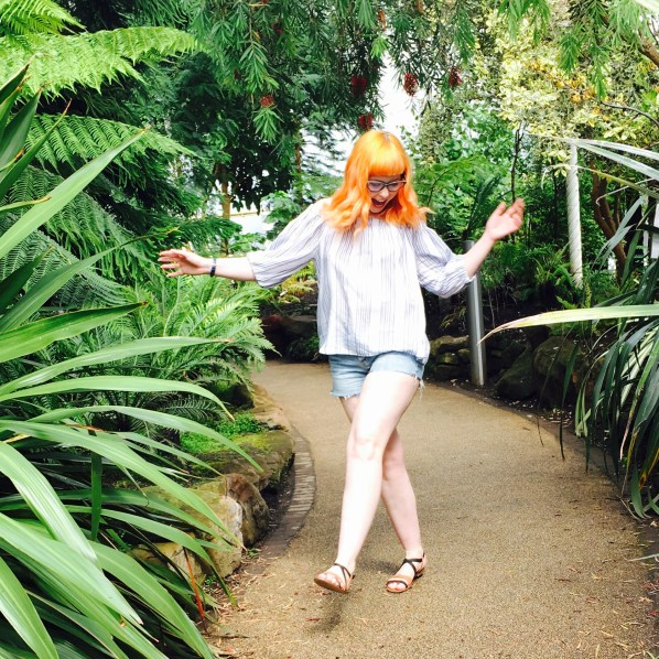 Dancing like nobody's watching on a Sunday afternoon at Glasgow's Botanic's #MakeItAYayDay