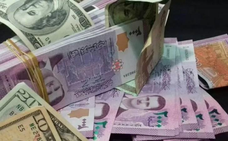 سعر الدولار مقابل الليرة السورية اليوم