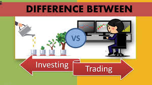 What is the difference between investing & trading