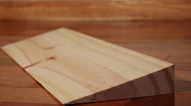 cuña de madera