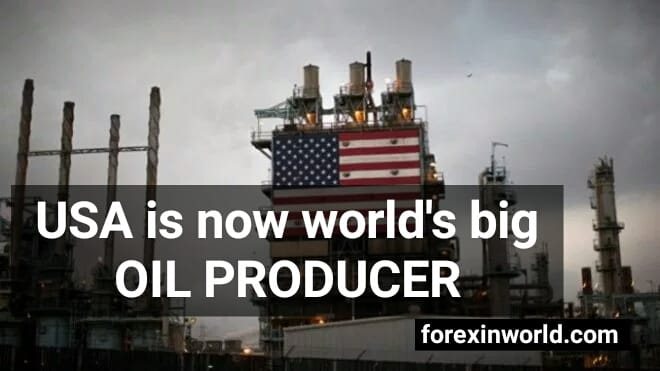 USA is now worlds big oil producer