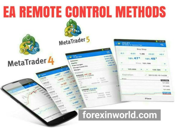 EA REMOTE CONTROL METHODS FOR MOBILE TRADERS