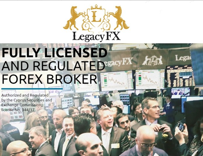 Legacy FX Regulated Broker offering   Legacy FX ISLAMIC ACCOUNT