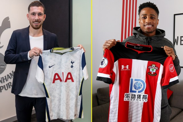 Pierre-Emile Hojbjerg and Kyle Walker-Peters have swapped at Tottenham and Southampton