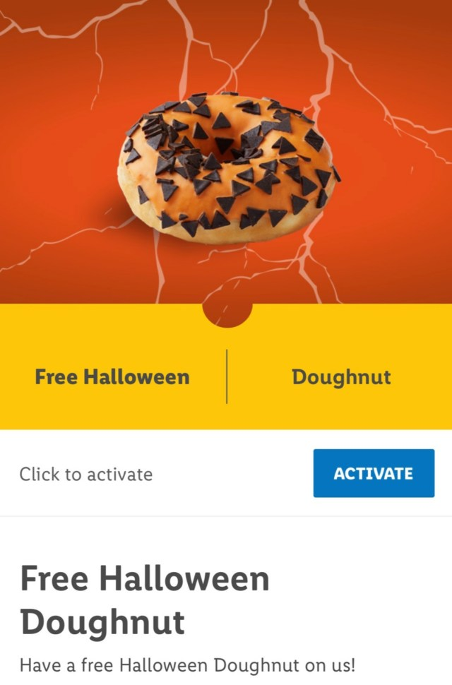 Here's how the offer looks in the Lidl Plus app