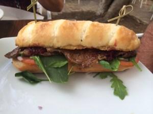 steak baguette