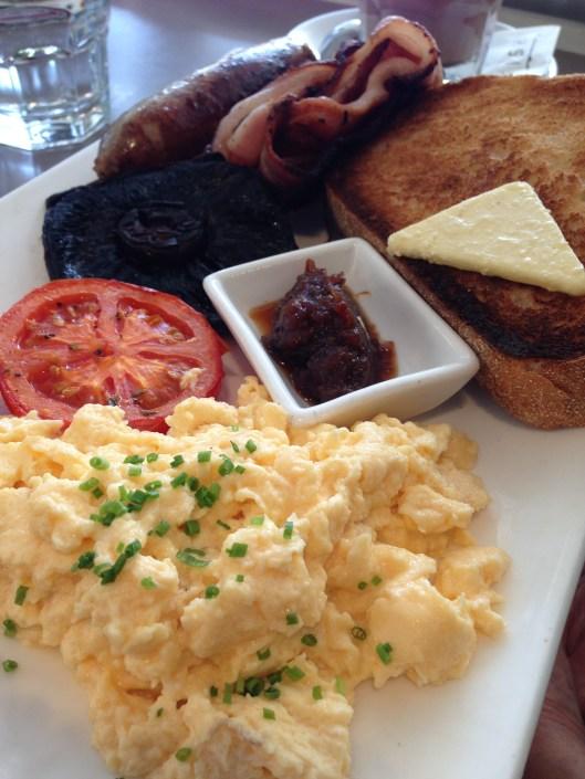 garfish big breakfast