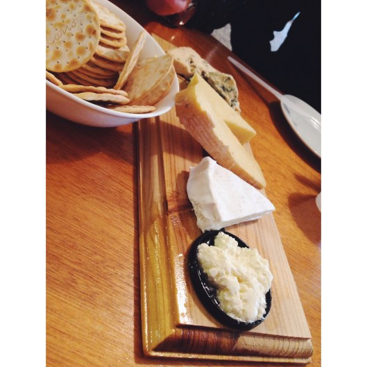 hunter hens cheese board