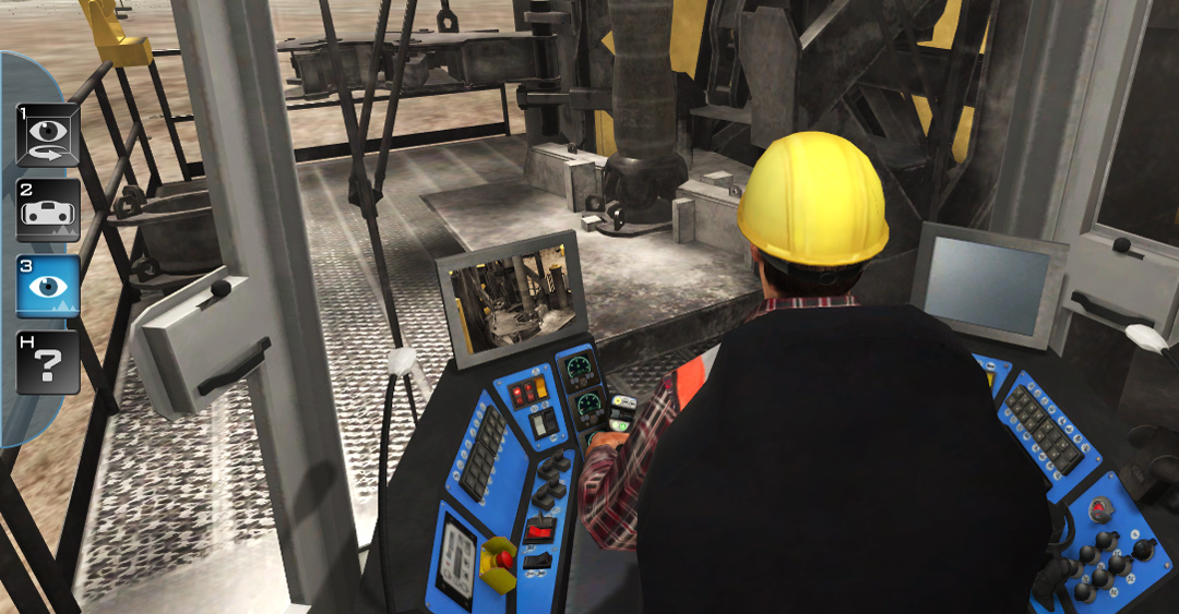 Mining Equipment Blasthole Drill Training Simulator